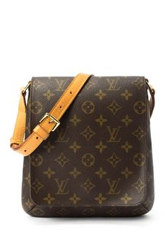 Vintage Louis Vuitton Leather Musette Salsa Short Messenger Bag by Vintage Handbags on @HauteLook