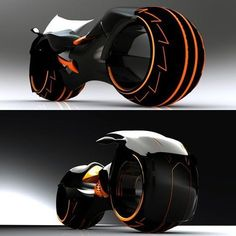 Tron Light Cycle by Wallace Campbell Yanko Design Futuristic Motorcycle, Futuristic Cars, Motorcycle Bike, Motorcycle Leather, Cool Motorcycle Helmets, Motorcycle Touring, Concept Motorcycles, Cool Motorcycles, Triumph Motorcycles