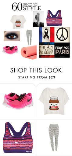 """""""let me c u do that yoga"""" by mrsemilystyles4everandever on Polyvore featuring NIKE and Manduka"""