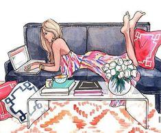 The Sketch Book – Inslee Haynes / Fashion Illustration by Inslee Fashion Sketches, Art Sketches, Art Drawings, Fashion Illustrations, Illustration Fashion, Sketch 2, Drawing Faces, Art Illustrations, Art And Illustration