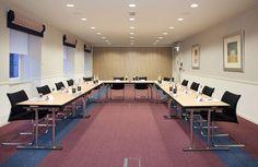 Mezzanine meeting room at Skene House - u-shaped.