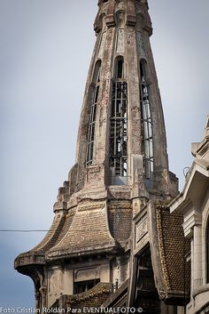#abandoned, #art nouveau, #building, #Buenos aires, #Confitería Del Molino
