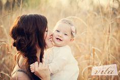 cute mom/daughter shot