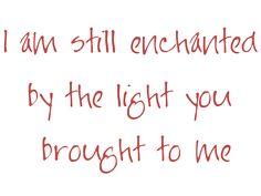 my favorite lyric ~U2