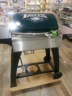 for the true tailgater...i guess, philadelphia eagles grill at home goods!  my favorite NFL team...and i looove this store!