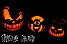 Fiolinea - Ślubna Galanteria Papiernicza: Moje straaaaszne dyniory Halloweenowe + szablony