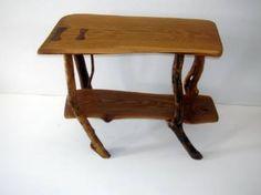 "Saatchi Art Artist joe kovacs; Installation, ""White Oak End Table #2"" #art"