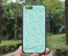 Mandalalighting bluewhite lineiphone 4 caseiPhone4s by skpcase, $7.99