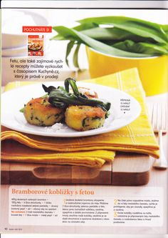 bramborové kobližky s Fetou