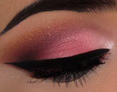 Maquiagem rosa www.facebook.com/blogcintaliga