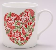 Wet Paint Heart Mug.