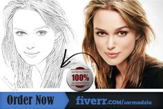 I will turn your photo into attractive Handmade Pencil sketch