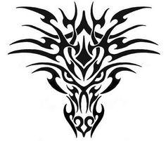 tribal-tattoo-dragon