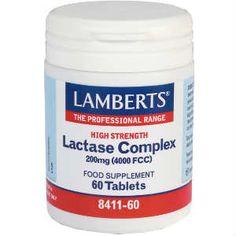 Lamberts Lactase Complex 200mg 60tabs
