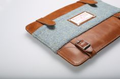 Windsor Briefcase. Plain Hoar Gray