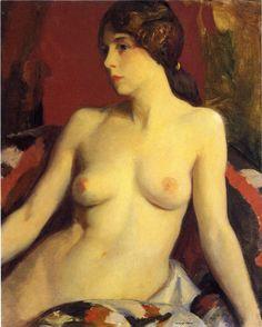 Mata Moana, Robert Henri. American Ashcan School Painter (1865-1929)