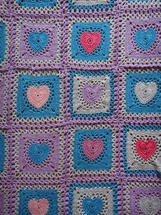Hellena's Baby Heart Blanket