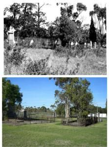 Will Will Rook cemetery - then and now. Will Will Rook cemetery is located off Camp Road Broadmeadows and is also known as Campbellfield cemetery.