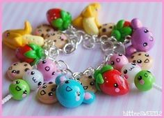 Kawaii charm bracelet. So sweet :)
