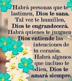 Dios a tu lado... ten esperanza