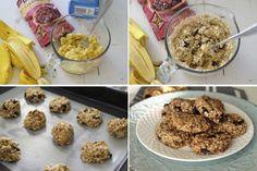 biscuiti de post biscuiti dietetici Lidl, Biscuit, Cereal, Deserts, Breakfast, Food, Banana, Morning Coffee, Essen