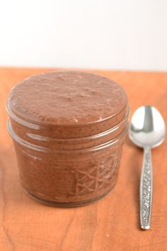 Chocolate Chia Seed Pudding - Food Doodles (AQ-made this exact from recipe for tomorrow morning, 1/31/14, Will make adjustments later, as/if needed and will post here.) NOTE: