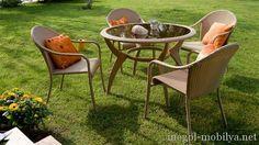 Güzel tekzen bahçe mobilyaları Modelleri - EVİMŞAHANEMODELLERİ.COM