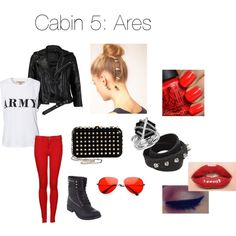 Cabin 5: Ares | Zabolicious | Percy Jackson and the Olympians | Mythology | Fashion