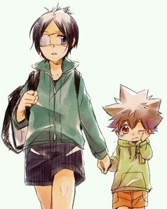 Chrome x Tsuna