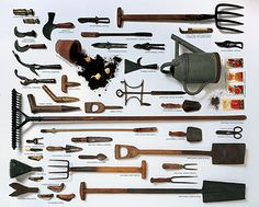 Garden Tool Time – Beautiful Care & Storage of Yard Implements —studio 'g' garden design and landscape inspiration and ideas Studio G, Garden Design & Landscape Inspiration
