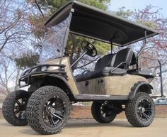 EZ GO Lifted Forest Camo 36 Volt Electric Golf Cart