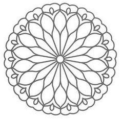 99 шаблонов для мандалы | Творим себя!