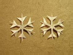 Pleasant Origami Snowflake - http://www.ikuzoorigami.com/pleasant-origami-snowflake/