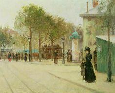 Paul Cornoyer. Paris. 1892.