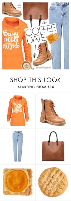 Buzz-Worthy: Coffee Date by pokadoll on Polyvore featuring Miss Selfridge