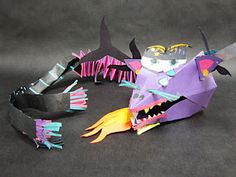 Origami Chinese Dragons