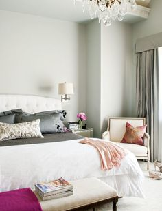 French Decor to Adore bedroom Pretty Bedroom, Dream Bedroom, Home Bedroom, Bedroom Decor, Master Bedrooms, Bedroom Colors, Master Suite, Fancy Bedroom, Bedroom Ideas