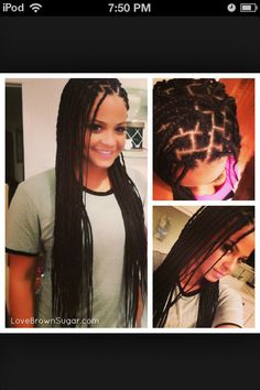 Box braids....going 2 be looking like this 4 awhile