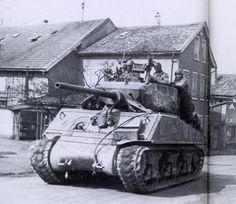 Sherman Jumbo tank.