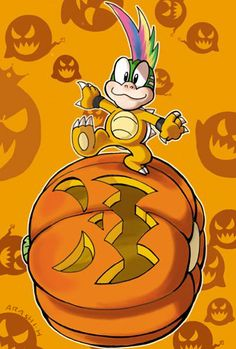 Koopalings Trick or lemmy by Arashi-H on DeviantArt Metroid, Mario And Luigi, Mario Kart, Morton Koopa, Game Character, Character Design, Super Mario Bros Nintendo, Marvel Cartoon Movies, Doodle Images