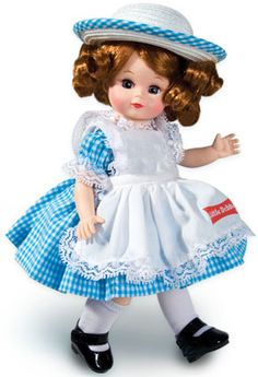 My mother collected Mme. Alexander dolls for decades, and she also collected the annual Little Debbie dolls.  I just ordered this sweet Little Debbie Madame Alexander for her for Christmas!