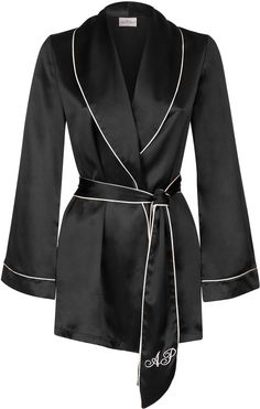 Agent Provocateur Classic Pyjama Jacket Black on shopstyle.co.uk