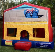 We offer free delivery within a radius of Cooroy & provide quality jumping castles to Gympie Council and Sunshine Coast Council residents. Obstacle Course, Basketball Hoop, Sunshine Coast, Sun Protection, Castles, Australia, Book, Happy, Chateaus