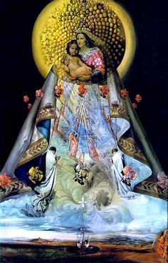 Salvador Dali:.    Virgin of Gaudalupe.