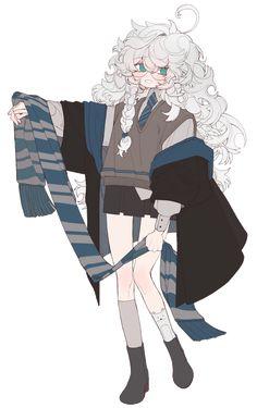 오로시책[다10a] 어고 (@MOPIDONA)   Twitter Cute Art Styles, Cartoon Art Styles, Art And Illustration, Ravenclaw, Arte Dark Souls, Harry Potter, Cartoon Kunst, Estilo Anime, Art Reference Poses