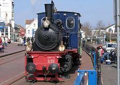 Borkum, Dampflokomotive, Lokomotive
