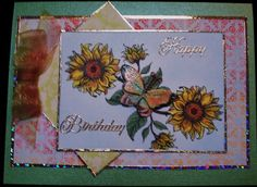 Flourishes birthday and Split Coast challenge 296 by Karen Wallace - Cards and Paper Crafts at Splitcoaststampers