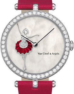 Van Cleef & Arpels Lady Arpels Ballerina decor watch