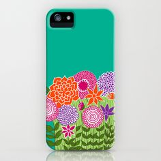 Wildflowers iPhone Case by Studio Lakshmi  - $35.00