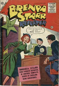 Brenda Starr v1 #14 by Dale Messick (1955) (via Comic Book Plus)